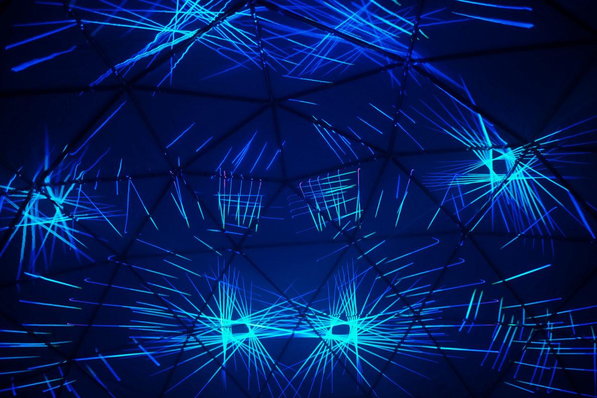 louisville dome laser big four bridge show